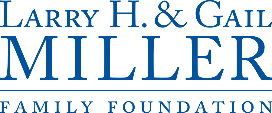 Larry H. Gail Miller Family Foundation primary logo 1 clr blue